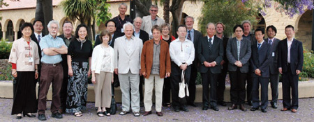 In the photograph: Peter Skilling (2nd person from the left of 2nd row), Jens-Uwe Hartmann (6th person from the left of 2nd row) and Paul Harrison (2nd person from the left of 3rd row).