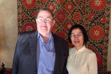 Peter Skilling et Virginia Shih