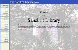 Sanskrit Library Home page