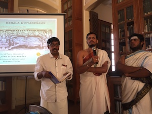 Vedic recitation at the inauguration