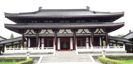 Yangzhou memorial hall for Ch'oe Ch'iwŏn 崔致遠 (855-949), Gao Pian's Korean secretary
