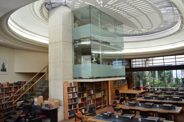 Exceptional closure of the library