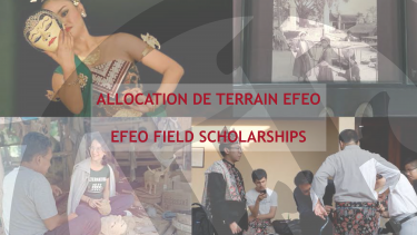 Allocation de terrain EFEO - 1er semestre 2022