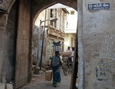 vieille ville d'Ahmadabad