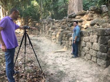 Début des travaux de prospection sur le site de Krol Damrei