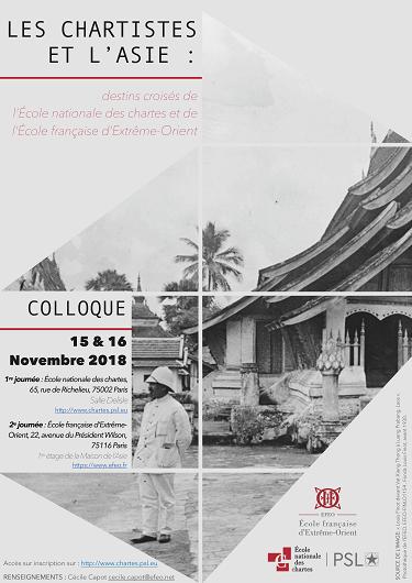 Conference ''Les chartistes et l'Asie''