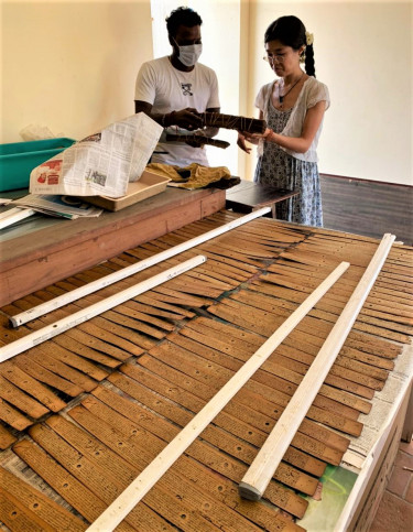 Projet ''Safeguarding for Posterity Two Private Collections of Palm-Leaf Manuscripts from the Tamil Country (EAP1294)''
