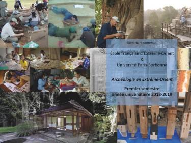 Joint seminar ''Archéologie en Extrême-Orient''