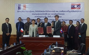 Signature of a bilateral agreement for the CHAMPA project