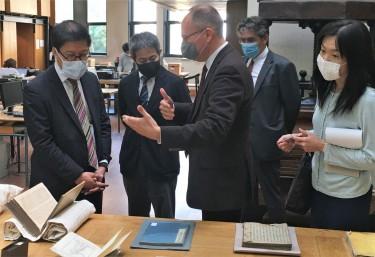 Délégation de l'ambassade du Japon