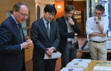Visit of His Excellency Mr. Jong-moon CHOI, Ambassador of the Republic of Korea to France