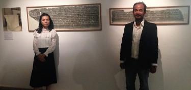 Inauguration de l'aménagement de 3 nouvelles salles dédiées aux inscriptions au Musée National du Cambodge