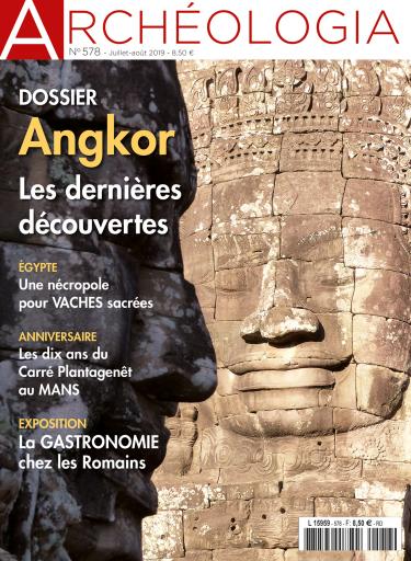 Dossier Angkor dans Archéologia
