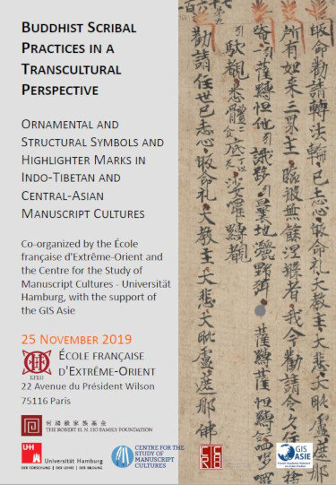 Buddhist scribal practices in a transcultural perspective