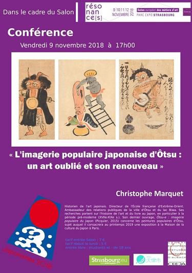 Conférence: ''L'imagerie populaire japonaise d'Ôtsu: un art oublié et son renouveau''
