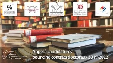 Contrat doctoral EFEO 2019