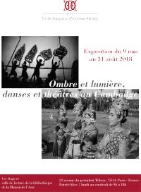 Exposition ''Ombre et lumière, danses et théâtres au Cambodge''