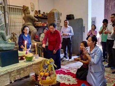 Actualités au Musée National du Cambodge