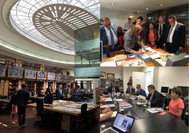 Visite des membres du groupe interparlementaire d'amitié France – Cambodge et Laos