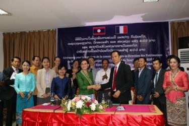 Signature d'une convention quadriennale de partenariat avec le ministère de l'Information, de la Culture et du Tourisme de la RDP lao
