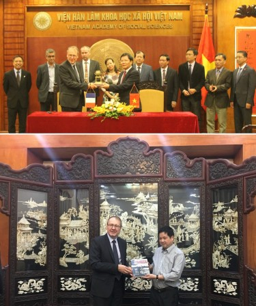 Visit of Christophe Marquet to Vietnam
